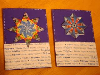 blå kort med teposer