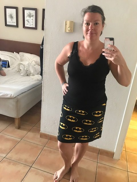 Batman nederdel